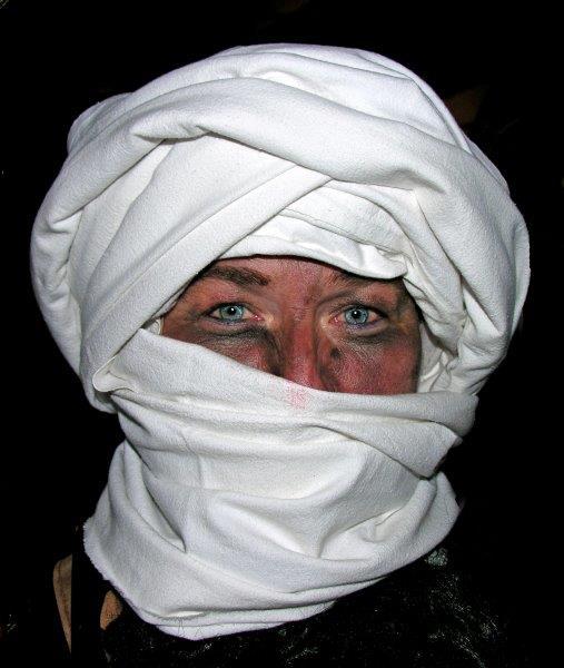 Dagmar als Taliban