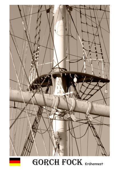 Segelschiff Gorch Fock Krähennest-1