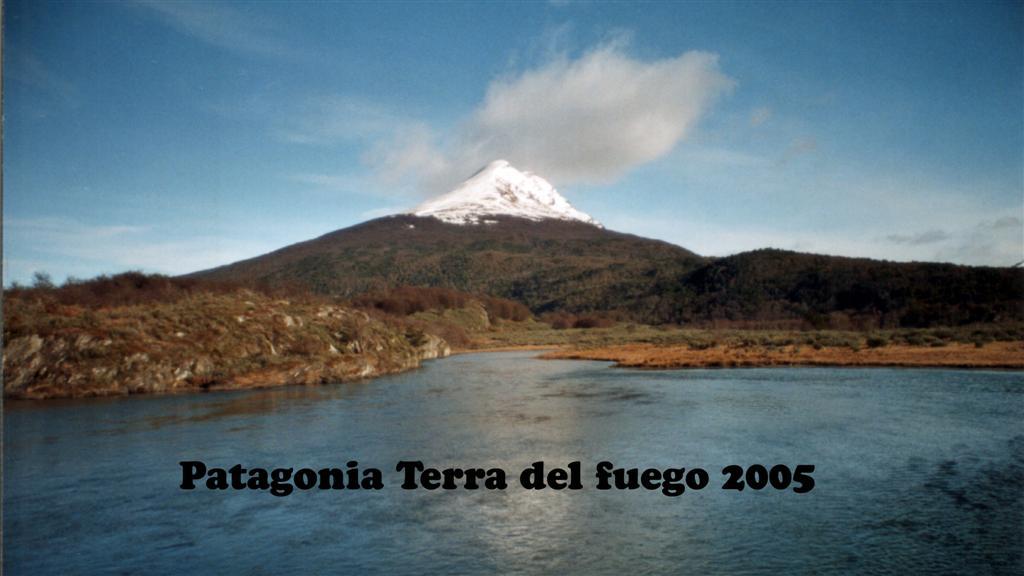 747032-02 Patagonie Terra del fuego Landschaft Pan-American 16x9 (Large)