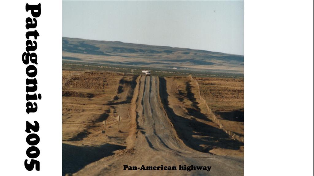 747054-17 Patagonie Landschaft  Pan-American Highway 2005 16x9 (Large)